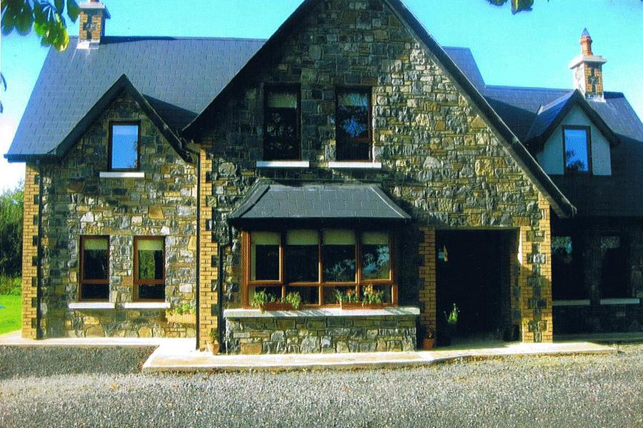 Kilkea Stone Yard Houses Entrances