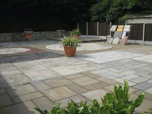 paving and patio display at kilkea stone yard